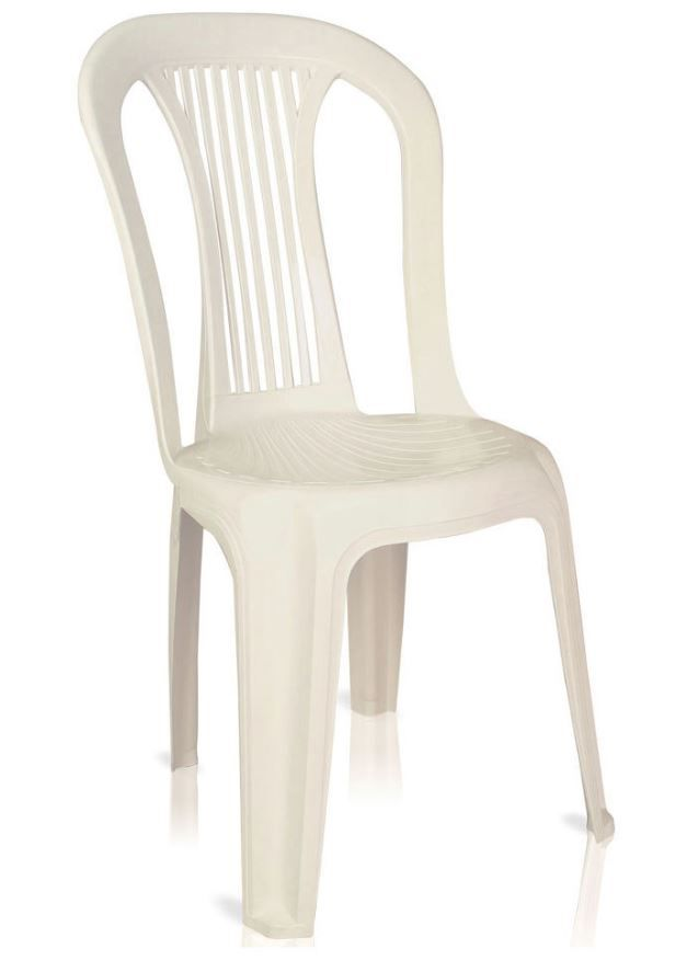 Cadeira Plástica Bistro Empilhável Festas Recepções Convenções Antares COD 120