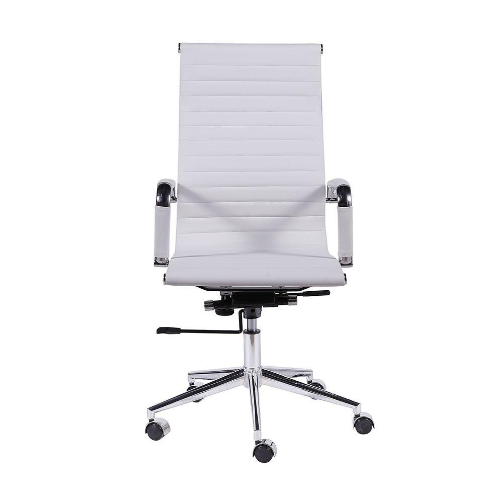 Cadeira Presidente esteirinha com acabamento cromado COD 600