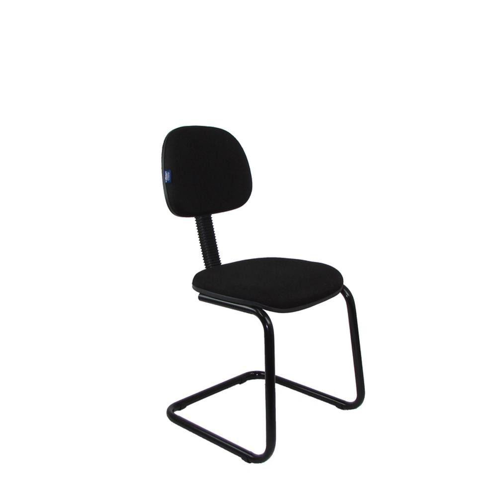 Cadeira Secretária Escritório Base Sky sem Braço Interlocutor COD 143