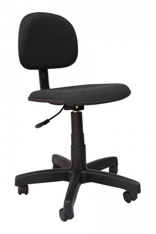 Cadeira Secretária Escritório Giratória sem Braço com Rodinha Regulável Confortável COD 146