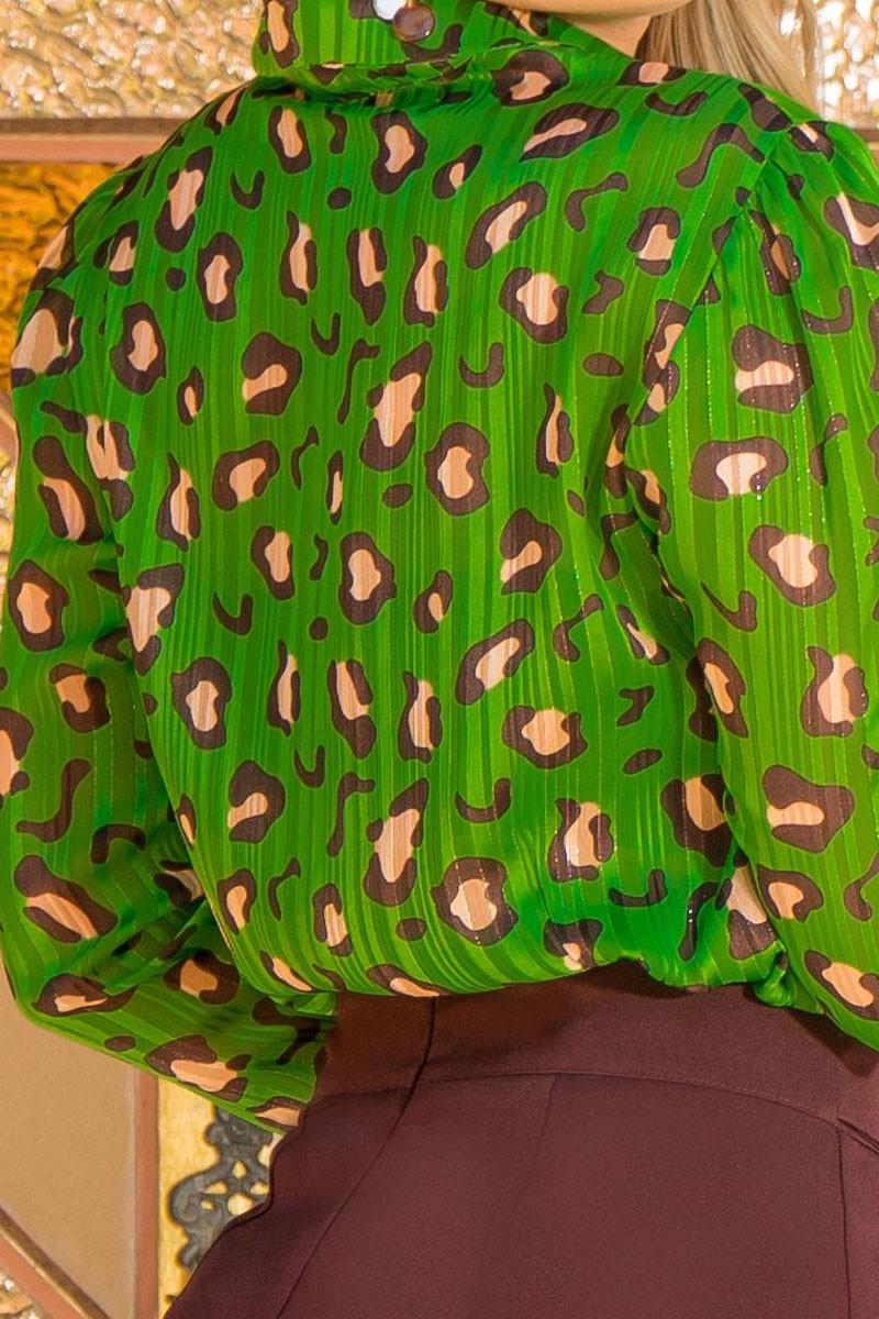 Camisa Estampada Manga Longa Kauly