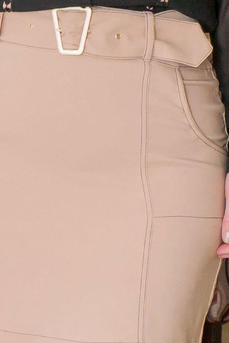 Saia Sino Plus Size Kauly com Cinto