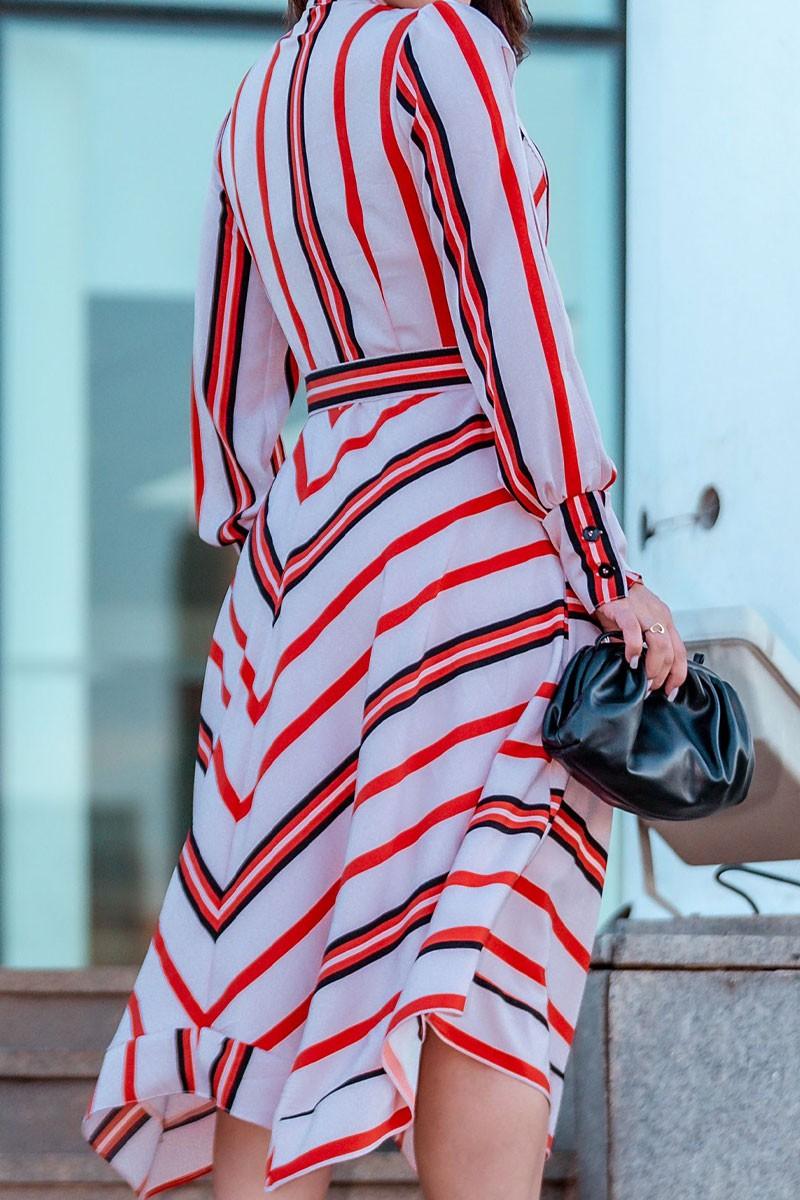 Vestido Midi de Crepe Kauly