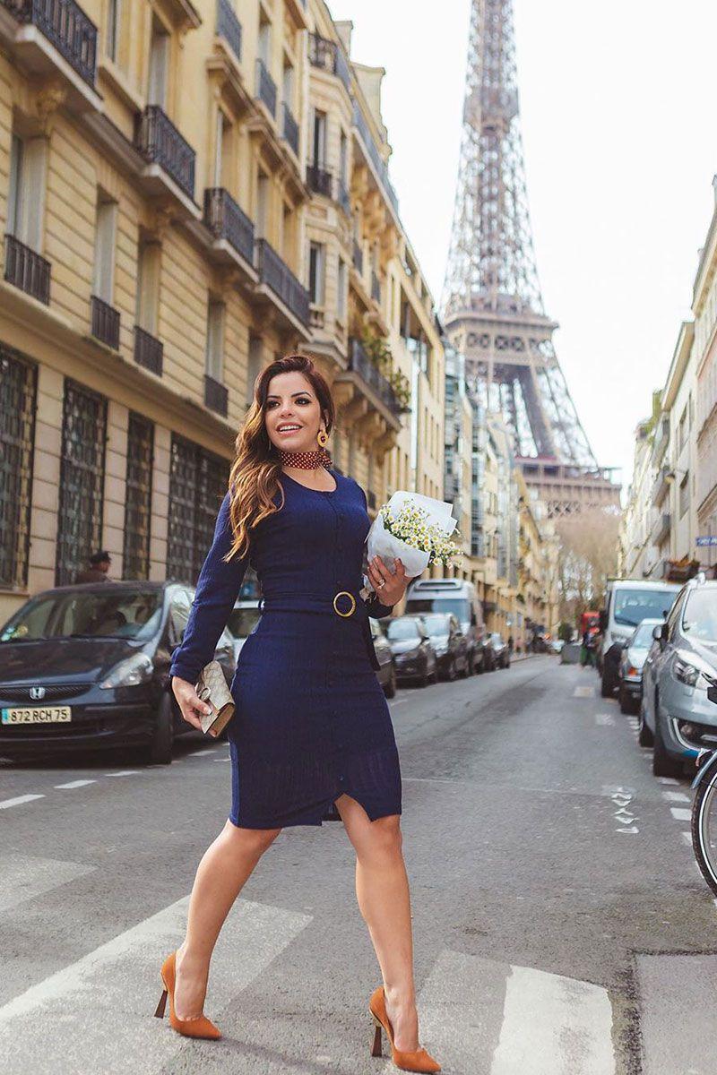 Vestido parisiense (30532)
