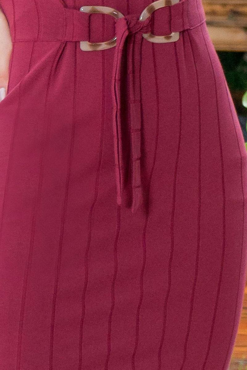 Vestido Tubinho Luciana Pais em Malha Canelada