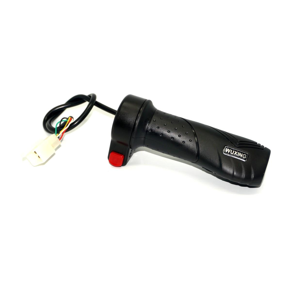 Acelerador C/ Botão (Punho Grande)