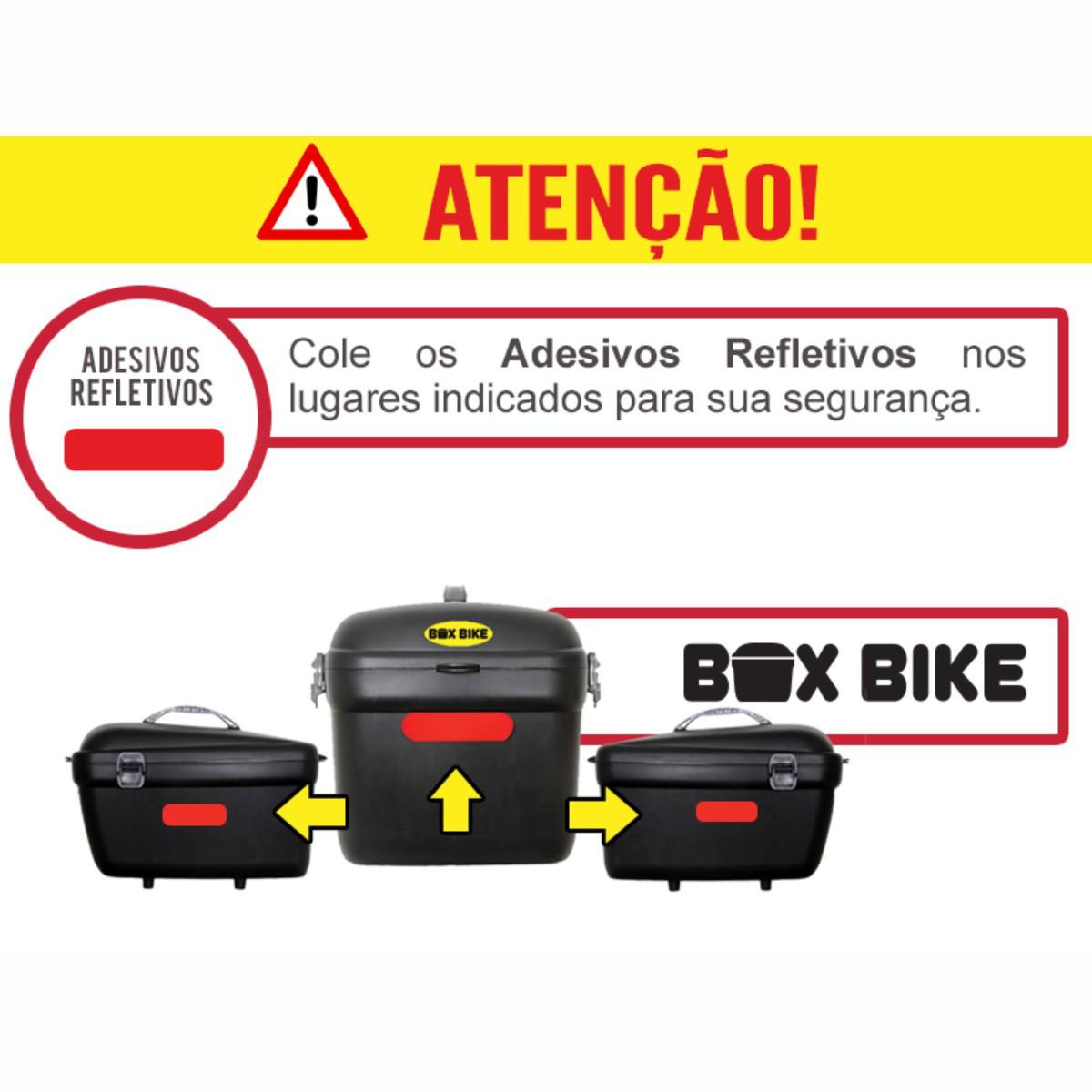 Baú Box Bike Kalf (Removível)