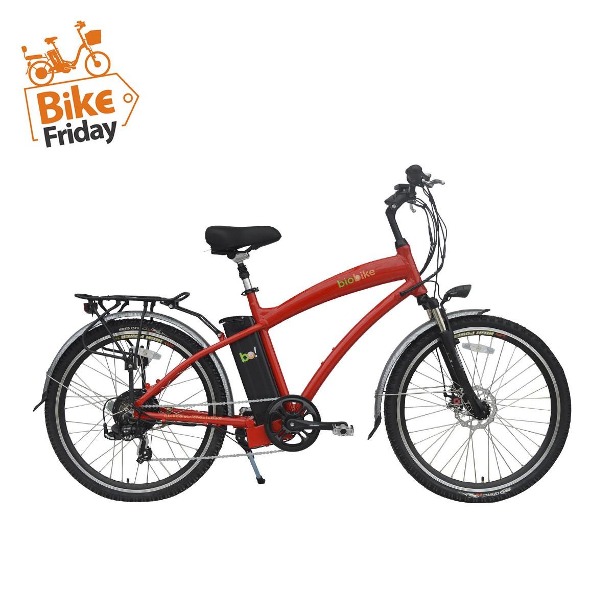 Bicicleta Elétrica Biobike CLASSIC Aro 26''