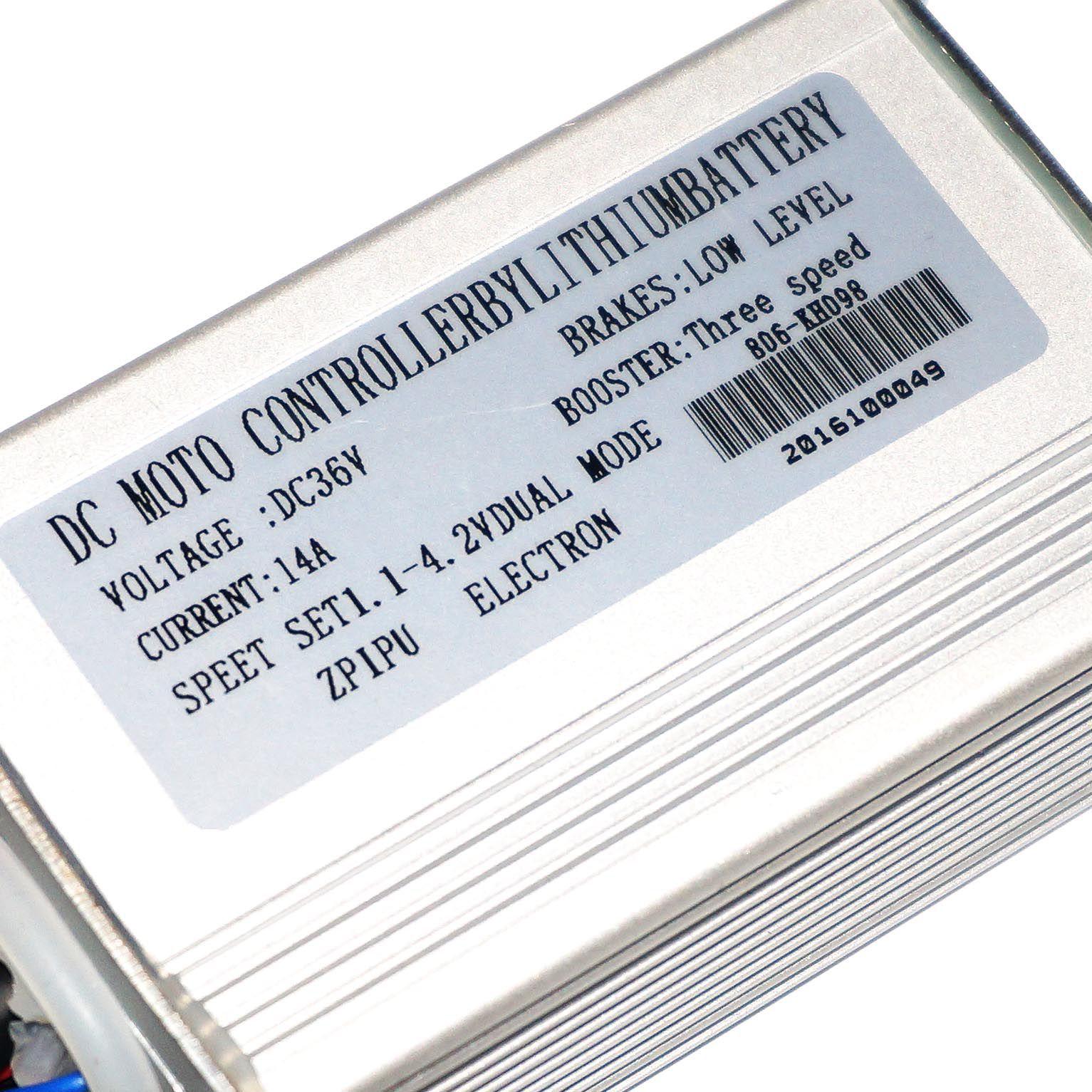 Controladora 36v p/ Painel 810 (Plugada) URBANA/STYLE/CLASSIC/JS 20 2017/2018/2019/2020