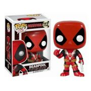 Boneco Colecionável Funko Marvel Pop Deadpool Thumb Up 112
