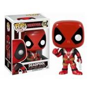 Boneco Colecionável Funko Marvel Pop Deadpool Thumb Up 112