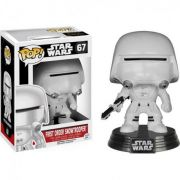 Boneco Funko Pop Star Wars First Order Snowtrooper 67