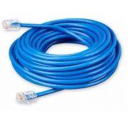 Cabo De Rede Azul Rj45 10 Metros Crimpado Cat5e Internet Lan