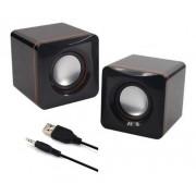 Caixinha De Som Usb P2 Para Computador Notebook 3w Speaker