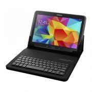 Capa Case Com Teclado Para Tablet 9-10  Pol Usb Com Apoio Preto