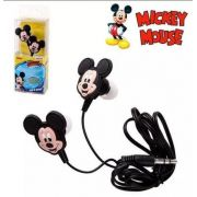 Fone De Ouvido Intra Auricular 1,3 M Disney Mickey Mouse