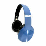 Fone Headphone Bluetooth 8 Horas De Musica Magena B16 Azul