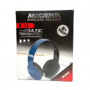Fone Headphone Bluetooth 8 Horas De Musica Magena B16 Preto
