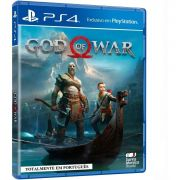 Jogo God Of War 4 Ps4 Lacrado Sony Mídia Física Playstation