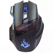 Mouse Gamer Soldado Led 7 Cores Gm-700 Usb 3000dpi Infokit