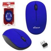 Mouse Óptico Sem Fio 1600 DPI Ultra confortável 2.4Ghz