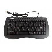 Teclado Pequeno Usb Multimídia Standard Ideal Notebook Knup