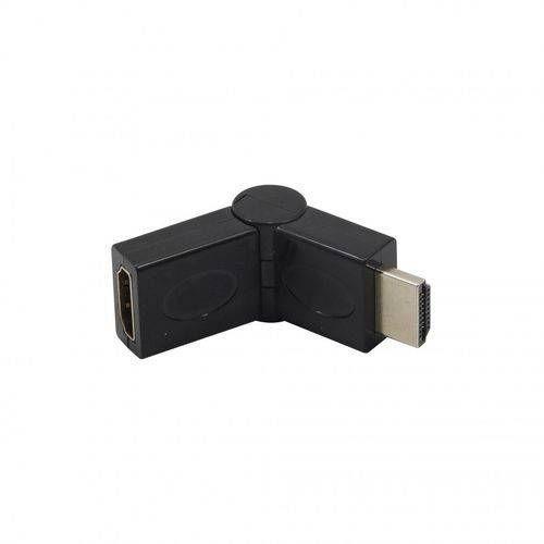 Adaptador Conector Hdmi Macho P/ Fêmea Articulado 90° 180°