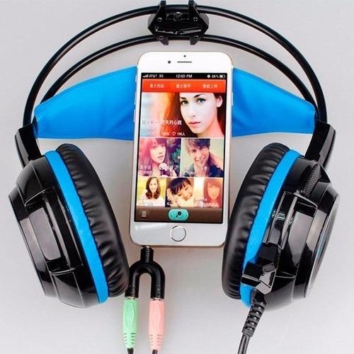 Adaptador P2 P/ 2 P2 Headset Xbox PS4 Fone Microfone Branco