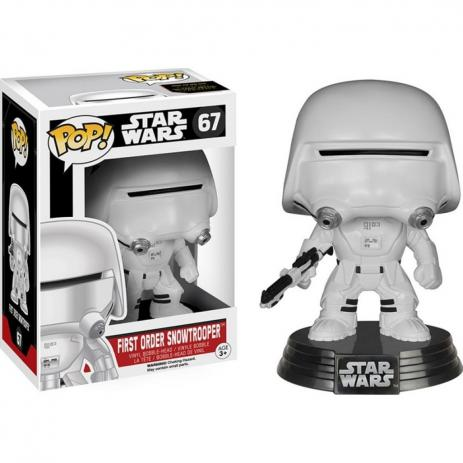 Boneco Funko Pop Star Wars First Order Snowtrooper 67