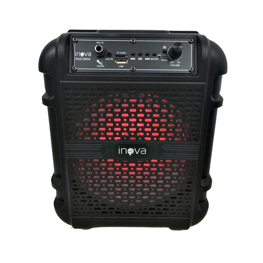 Caixa De Som Bluetooth Amplificada Potente 15w Com Alça
