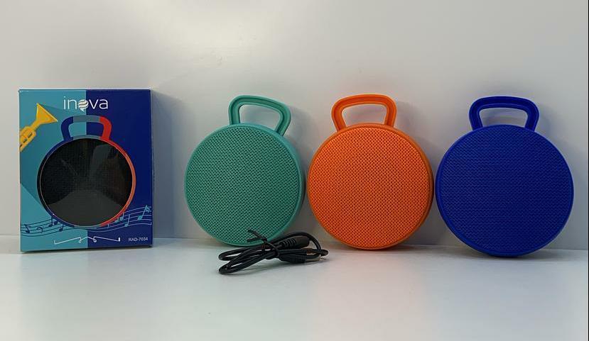 Caixa De Som Bluetooth Portátil 4.3W Rádio Fm Super Bass