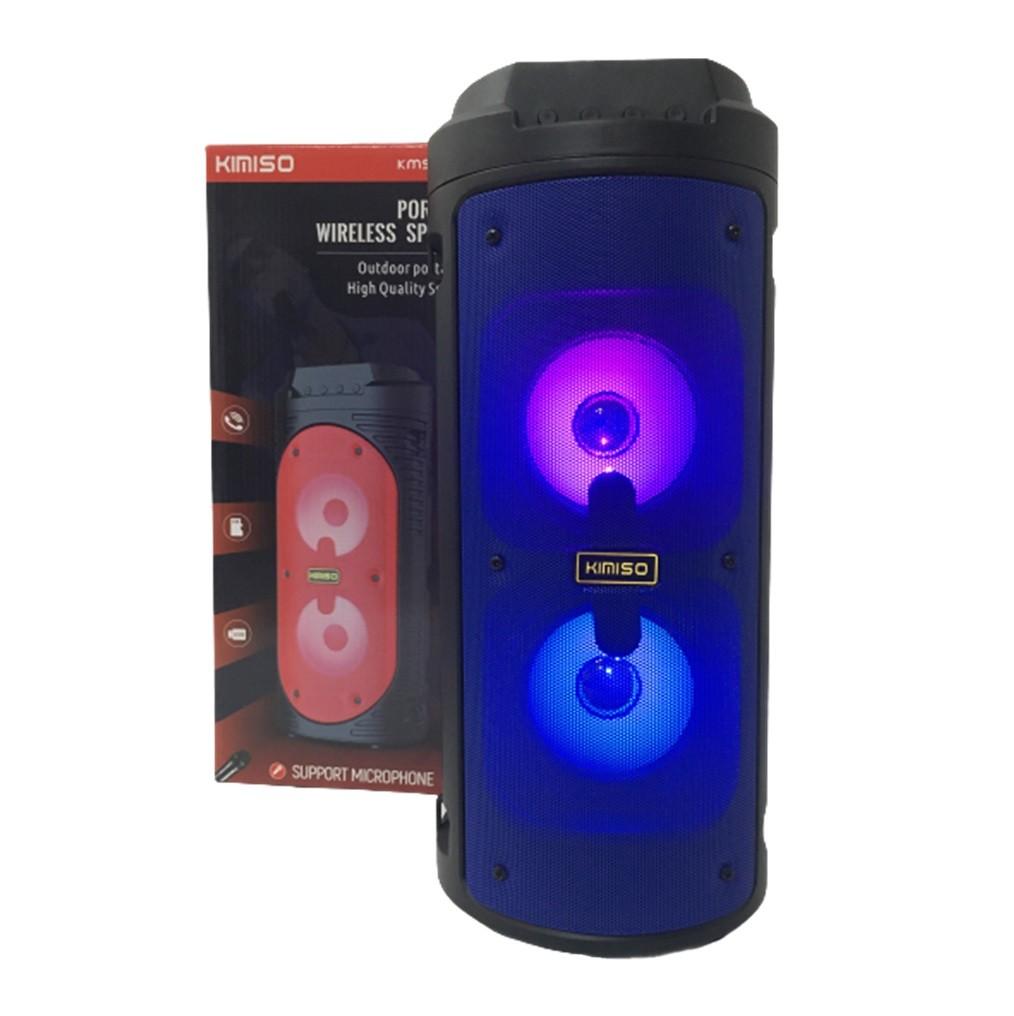 Caixa De Som Bluetooth USB Wireless Com Microfone KMS-6681