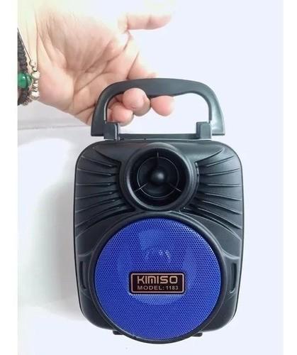 Caixa De Som Portátil Bluetooth USB Cartão TF E Rádio AM/FM