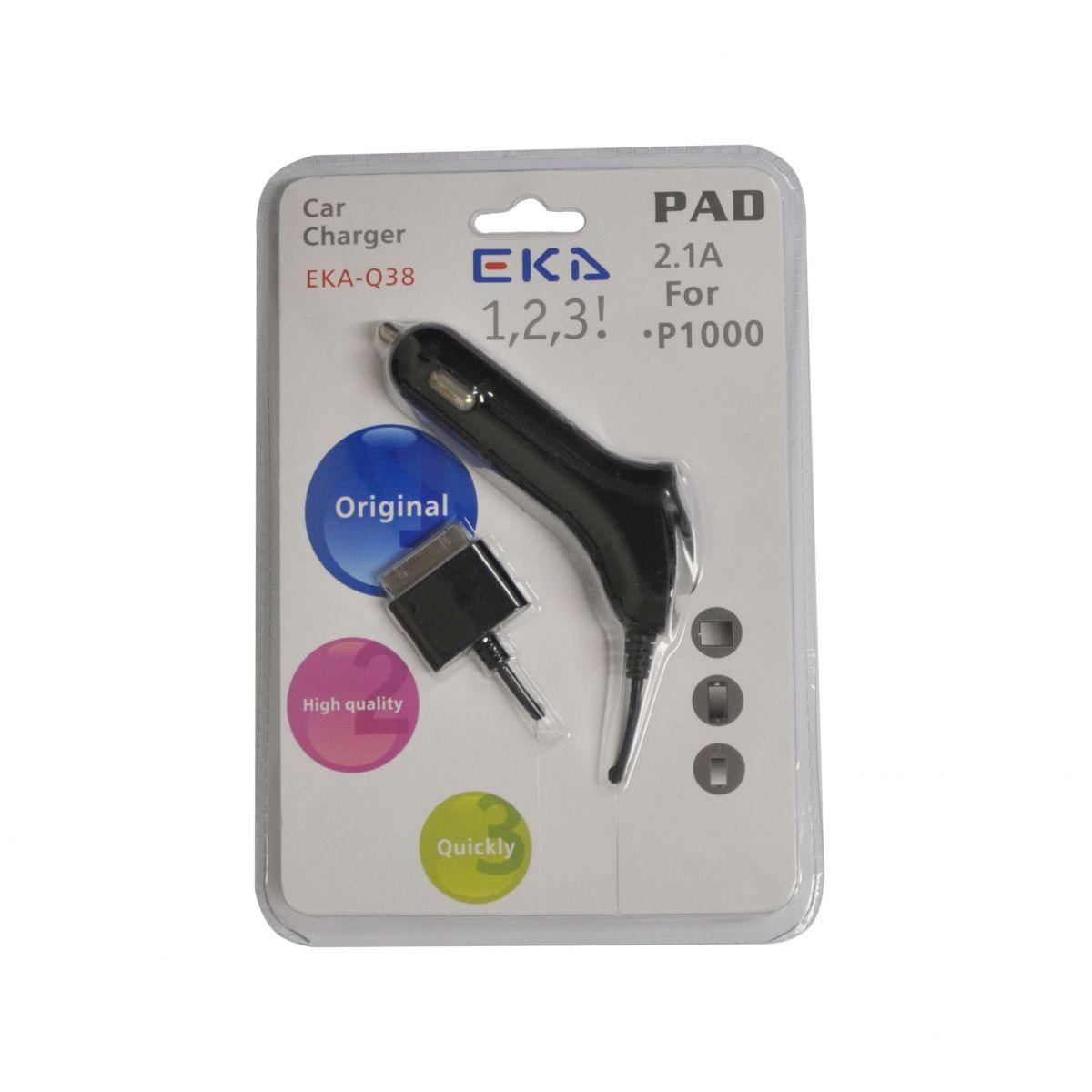 Carregador Veicular Eka-q38 Padrão Samsung 5v 2100mah