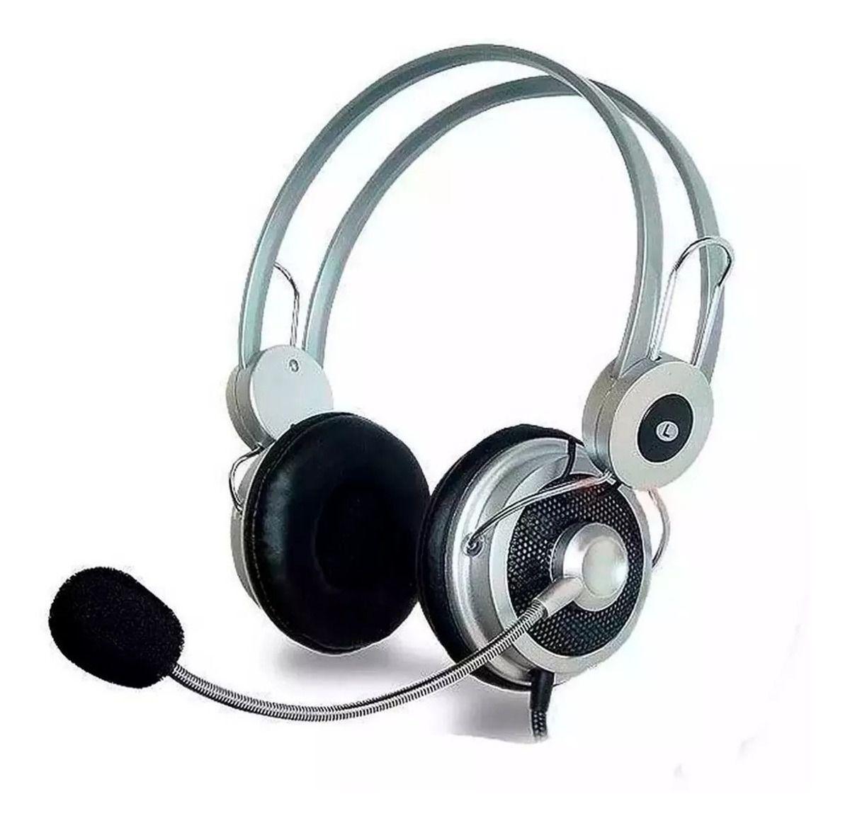 Fone de Ouvido Headset Infokit Hiper Música Hm-610mv