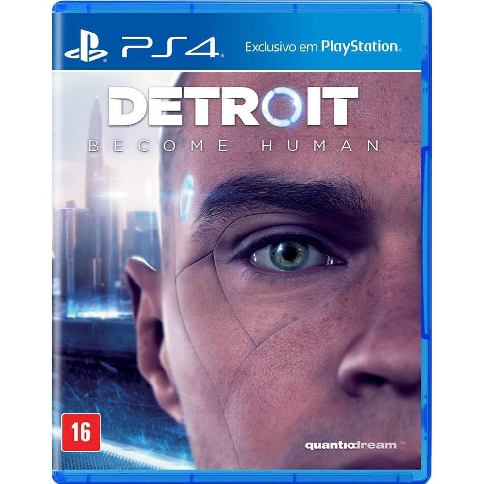Jogo Detroit Become Human Ps4 Português Mídia Física