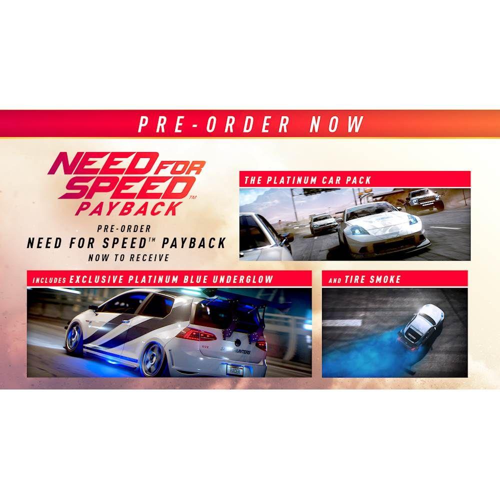 Jogo Need For Speed: Payback para Xbox One - EA Mídia Física