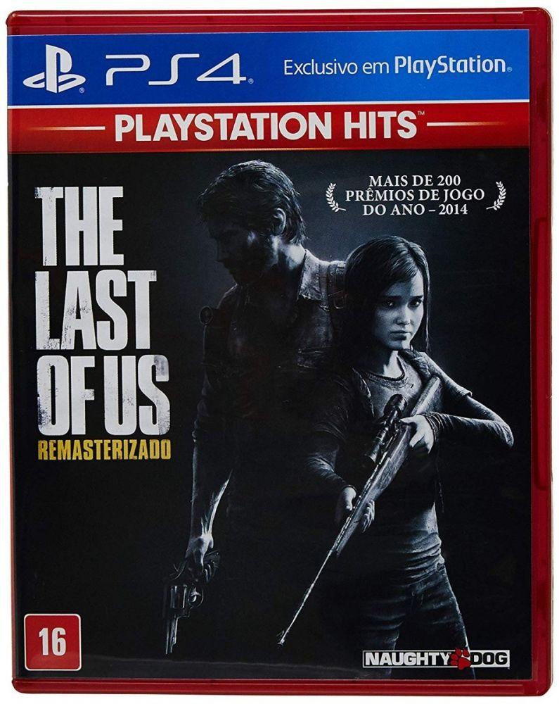 Jogo Sony Playstation The Last Of Us Remasterizado Ps4