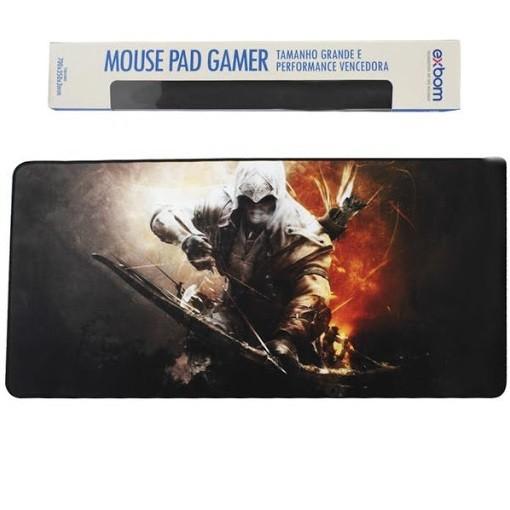 Kit Teclado E Mouse Gamer Com Mouse Pad Grande