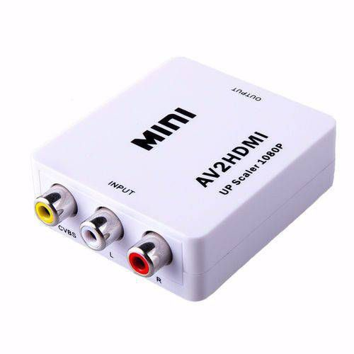 Mini Adaptador Conversor De Hdmi Para Rca Video Composto Av