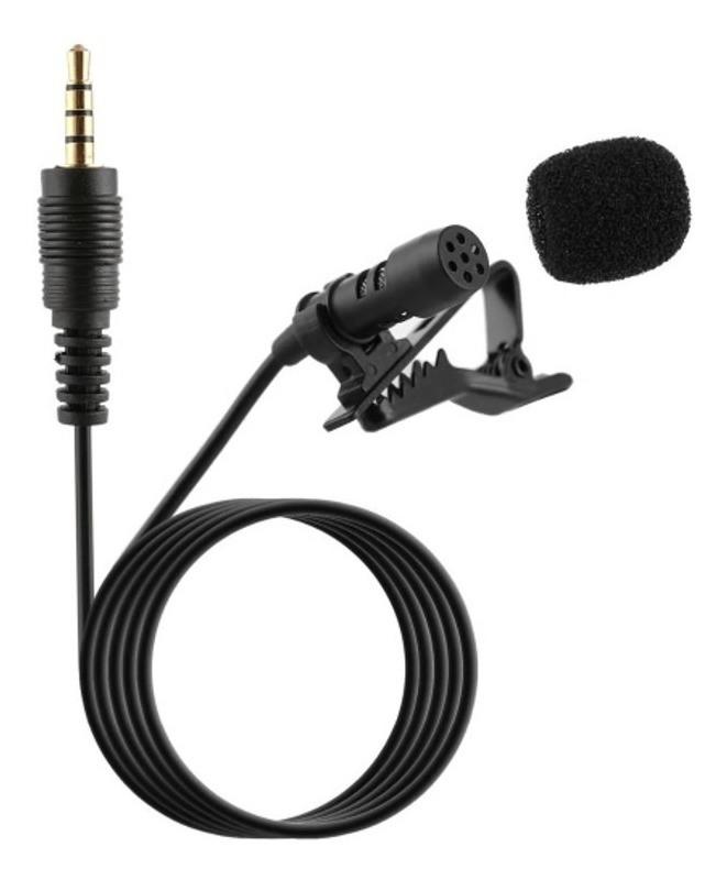 Mini Microfone Com Fio de Lapela Profissional Lt-258 Lotus