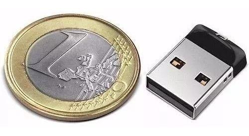 Mini Pen Drive 64GB Cruzer Fit Sandisk Usb 2.0/3.0
