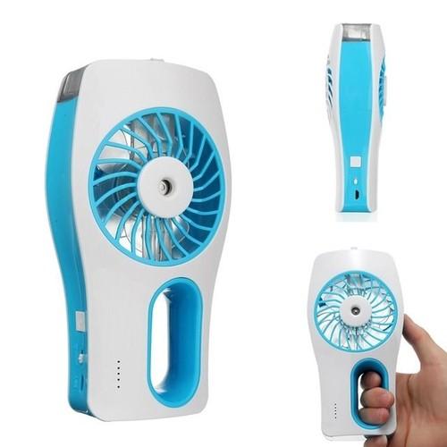 Mini Ventilador Recarregável Com Umidificador De Ar LuaTek