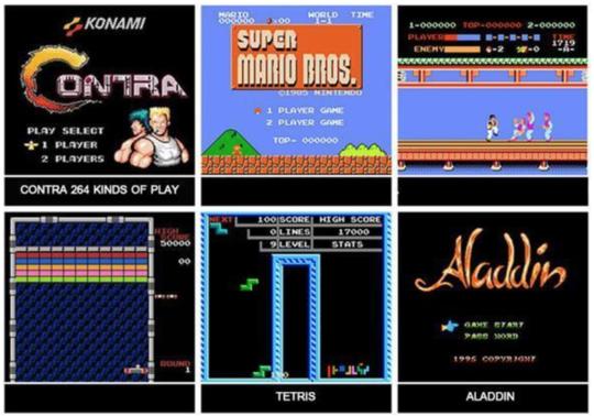 Mini Vídeo Game Retrô 620 Jogos Pac-Man Mário Bros Luatek