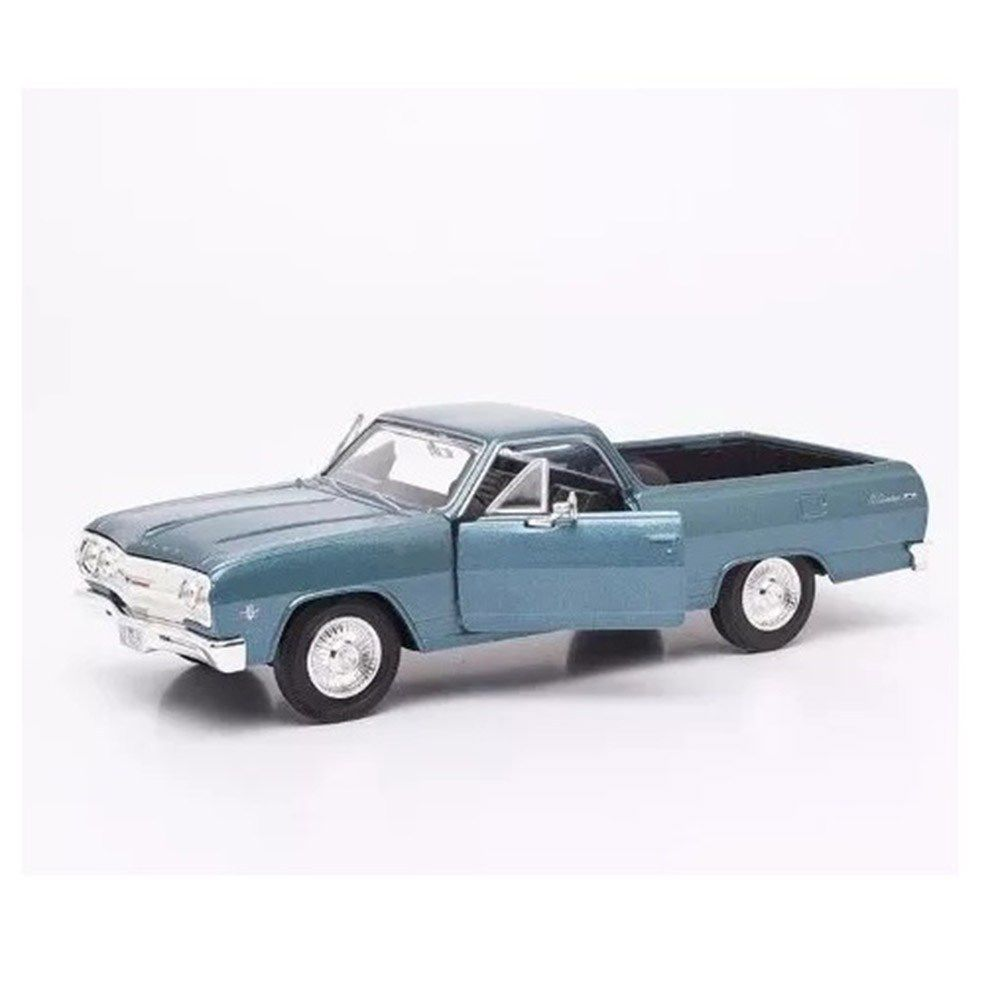 Miniatura Chevrolet El Camino 1965 Azul Metálico 1:25 Maisto
