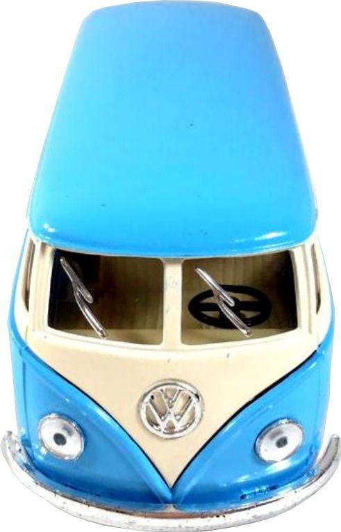Miniatura Volkswagen Kombi 1962 Clássico Escala 1:32 Azul