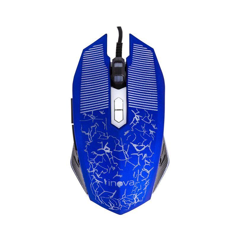 Mouse Gamer Ergonômico C/ Led PC e Notebook Alta Velocidade