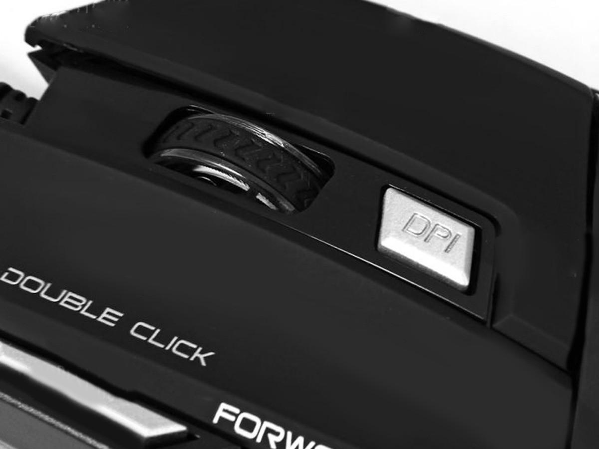 Mouse Gamer Pro Usb Led Dpi Até 3.600 Frames 7 Botões X7