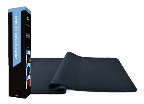 Mouse Pad Gamer Grande Speed Reforçada 70 Cm x 35 Cm Preto
