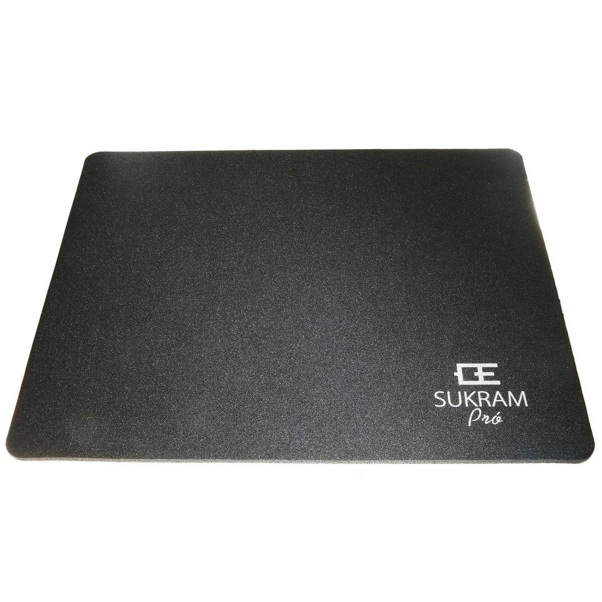 Mousepad Pequeno Basico Emborrachado Sukram Preto